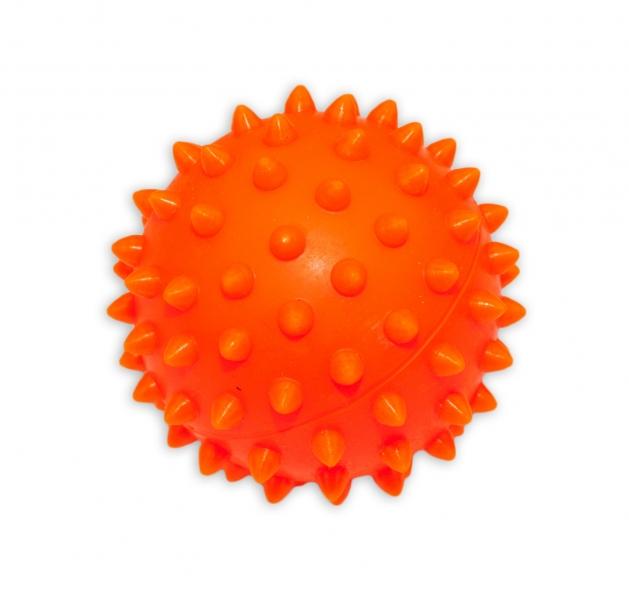 Hencz Toys Farebná loptička / ježko, 1ks v krabičke - oranžový