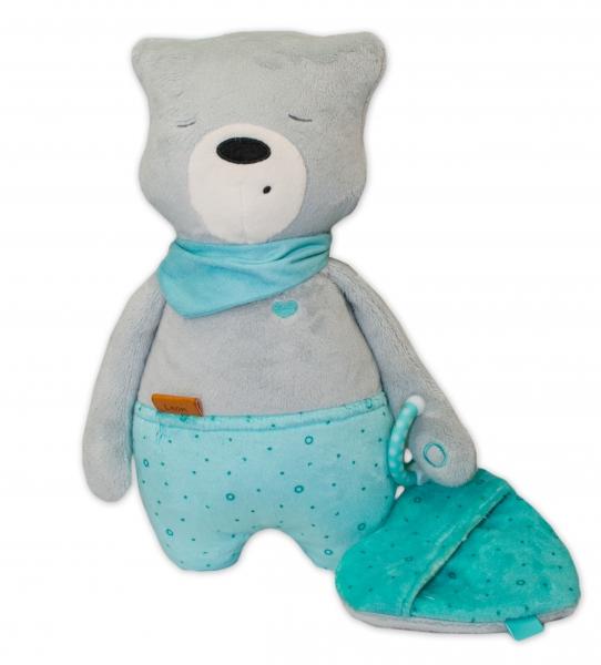 Szumisie Šumiaci maznáčik Medvedík Leon 36 cm - Snímač spánku
