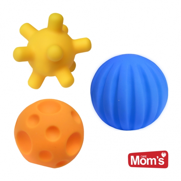 Edukačné farebné loptičky , 3ks