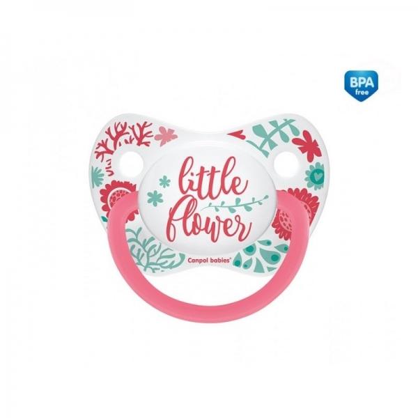 Cumlík anatomický Little Flower 6-18m B - ružový-6/18měsíců