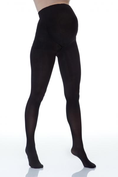 Lida  Tehotenské nepriehľadné silonky 60 den - čierne, veľ. XL
