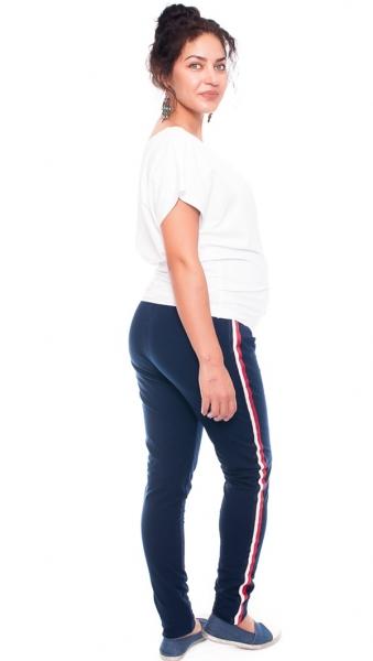 Tehotenské tepláky /nohavice Tommy, granátové