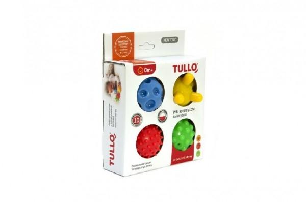 Balóniky stimulačné gumové 5cm 4ks v krabici 15x19x5cm