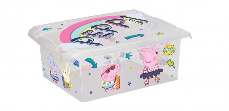 Plastový box - Prasiatko Peppa