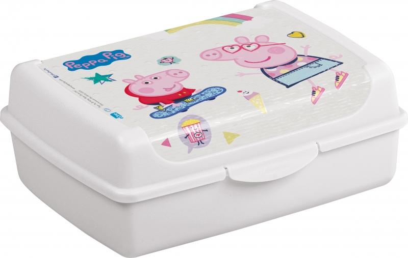 Box na desiatu Prasiatko Peppa 1 l - modrý
