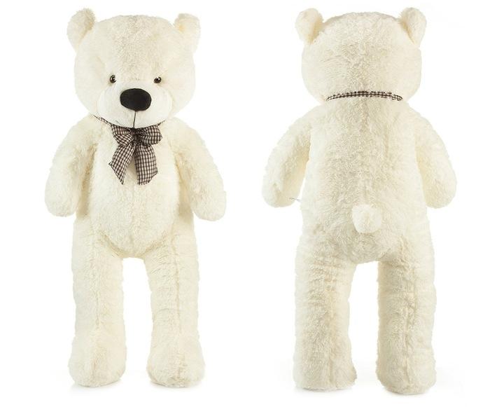 Tutumi Roztomilý maxi plyšový medveď Tedík 130cm - smatanový