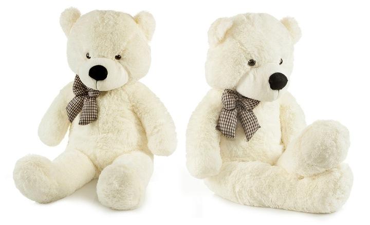 Roztomilý maxi plyšový medveď Tedík 160cm - smotanový