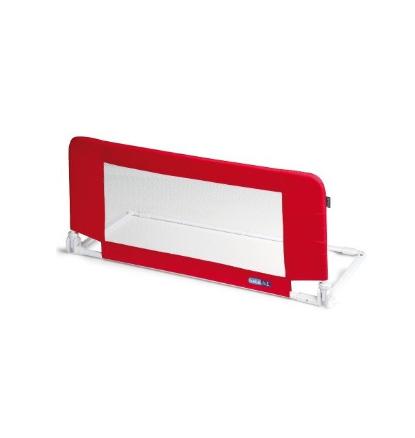 Bezpečnostná zábrana na posteľ Mini MOON - červená
