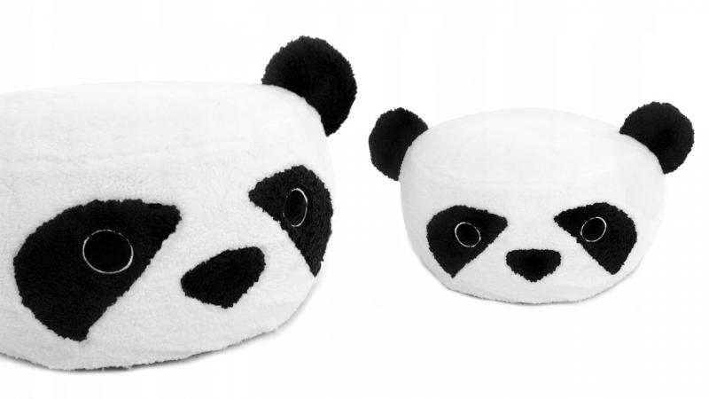 Plyšový bobek, kresielko Animal, 60x30cm - Panda