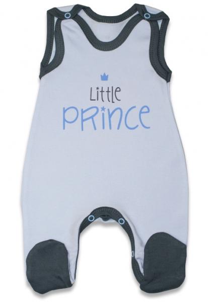 Dojčenské bavlnené dupačky, Malý princ - modré, veľ. 62-62 (2-3m)