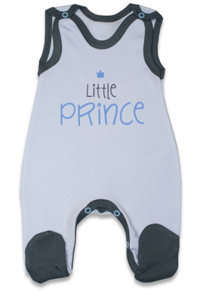 Dojčenské bavlnené dupačky, Malý princ - modré, veľ. 74-74 (6-9m)