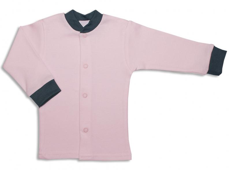 Bavlnená kojenecká košieľka, Malá Princezná - růžová, veľ. 62-62 (2-3m)