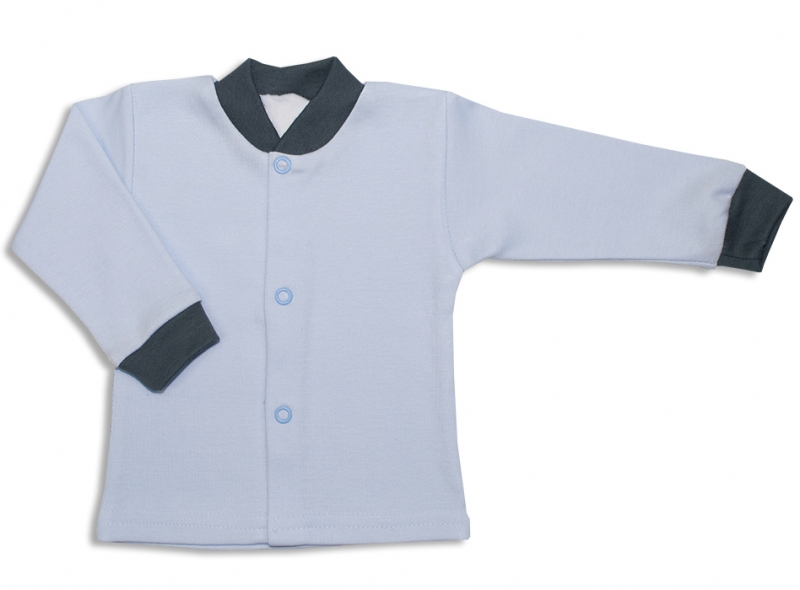 Bavlnená kojenecká košieľka, Malý Princ - modrá-56 (1-2m)
