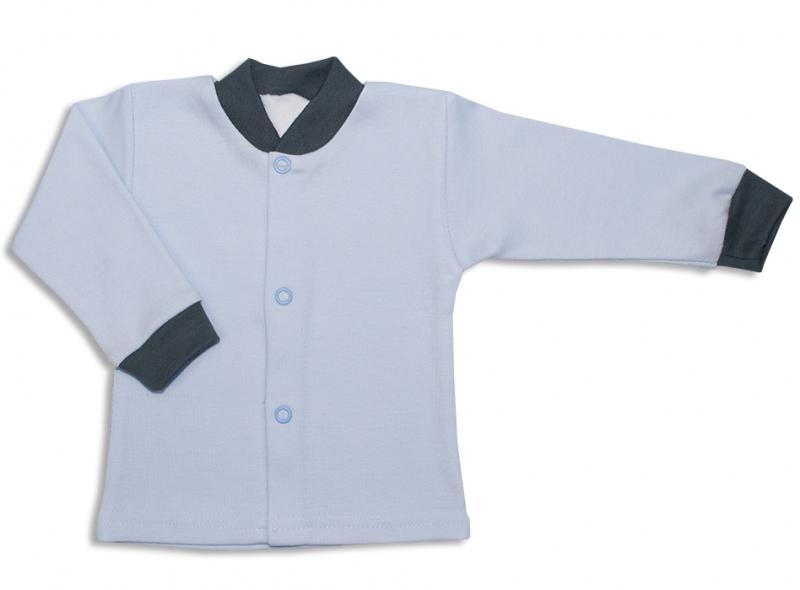 Bavlnená kojenecká košieľka, Malý Princ - modrá, veľ. 62-62 (2-3m)