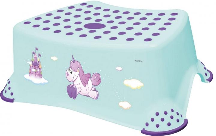 Stolička, schodík s protišmykovou funkciou - Unicorn