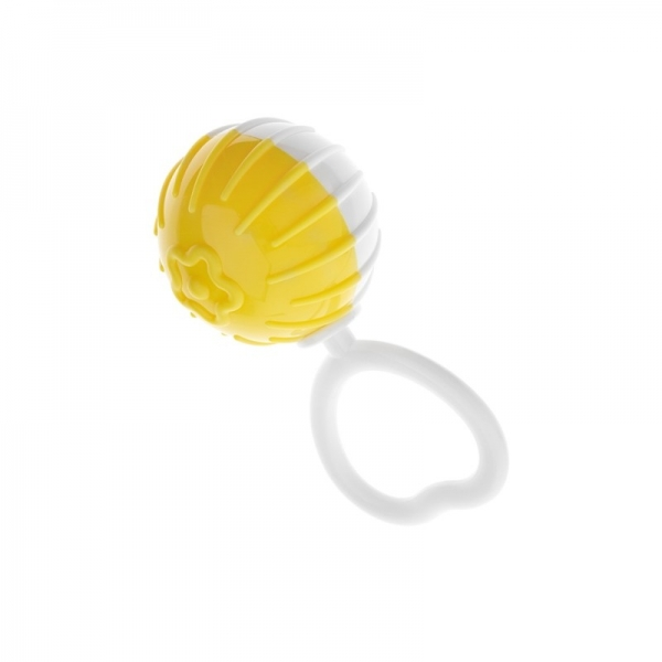 AM Tullo Veselá hrkálka, guľa - žltá