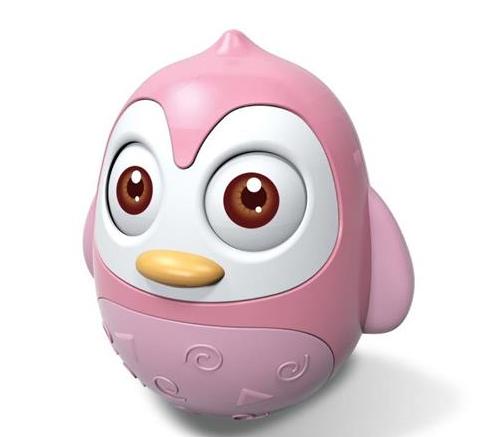 BABY MIX Roly Poly Tučniak - ružový