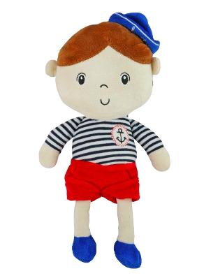 Edukačná plyšová bábika Námorník - Chlapček