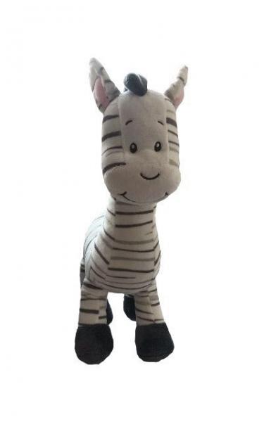 Tulilo Plyšová zebra 33 cm, K19