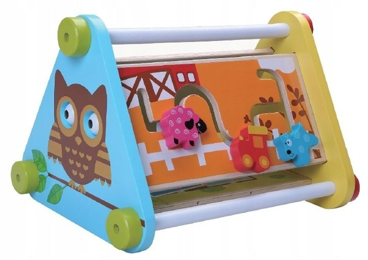 Drevená edukačná hračka - Malá sova
