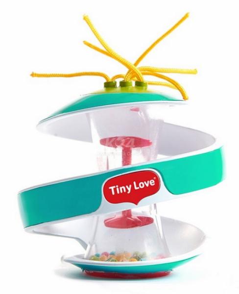 Tiny Love Senzorická špirálka Inspiral Klepsydra - tyrkysová