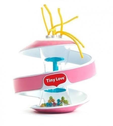 Tiny Love Senzorická špirálka Inspiral Klepsydra - ružová