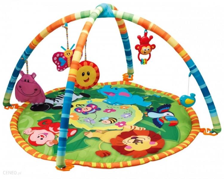 Smily Play Vzdelávacie hracia deka, podložka Džungľa