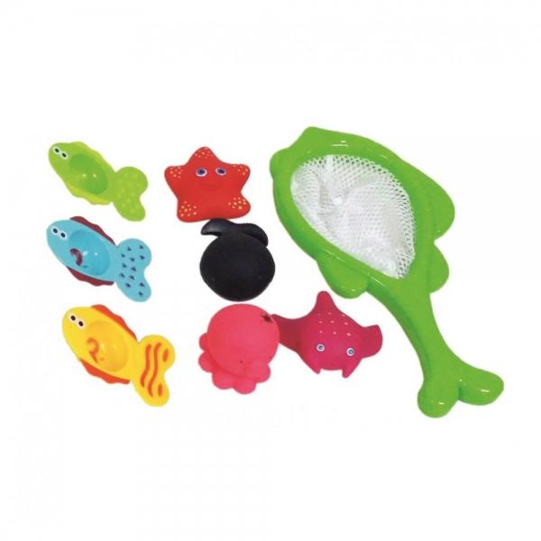 Bino Sada hračiek do vody so sieťkou - morský svet