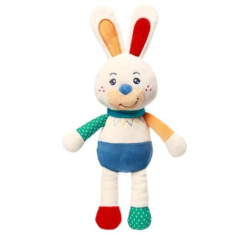 Plyšová hračka s hrkálkou Zajačik Jerry
