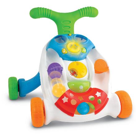 Smily Play Detské interaktívne chodítko s loptičkami