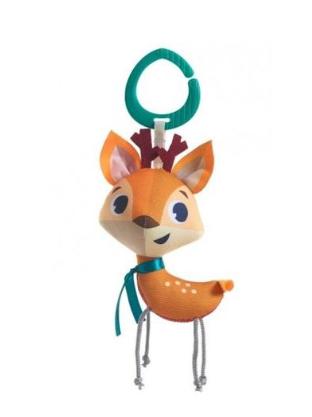 Tiny Love Závesná hračka s hrkálkou - Srnka