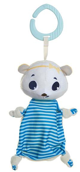 Tiny Love Maznáčik, muchláček s klipom - Ľadový medveď