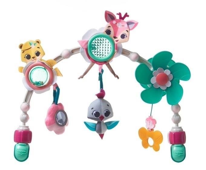 Oblúk s hračkami Lesné zvieratká