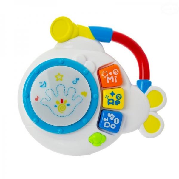 Euro Baby Interaktívna hračka s melódiou bubienok - Ponorka