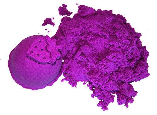 Kinetický piesok - fialový - 2kg + formičky zadarmo