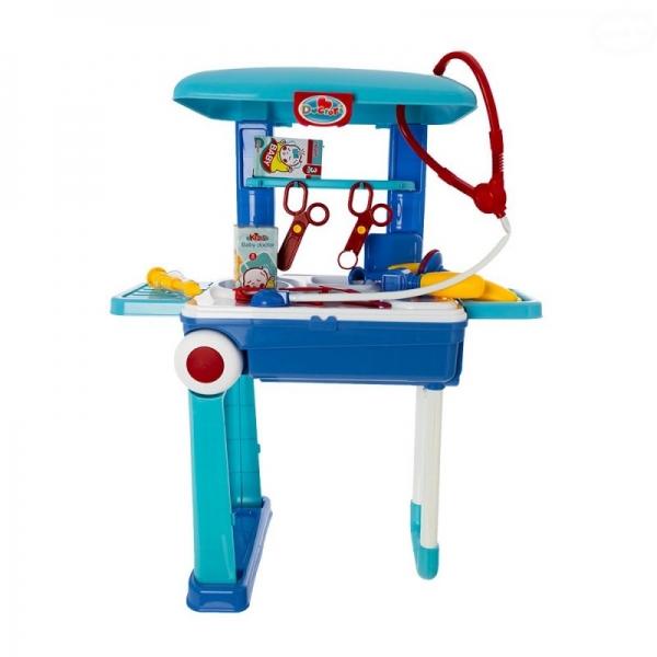 Euro Baby Detský lekársky set v pojazdnom kufríku