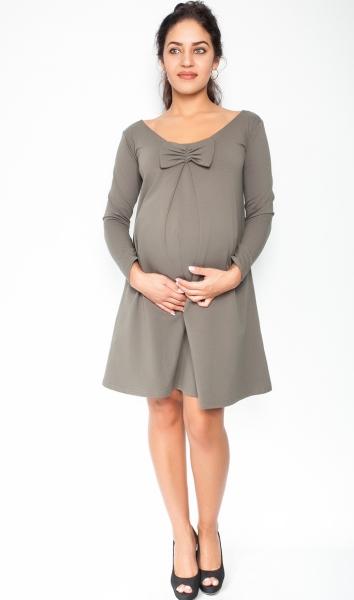 Elegantné tehotenské šaty 20edaa3bccc