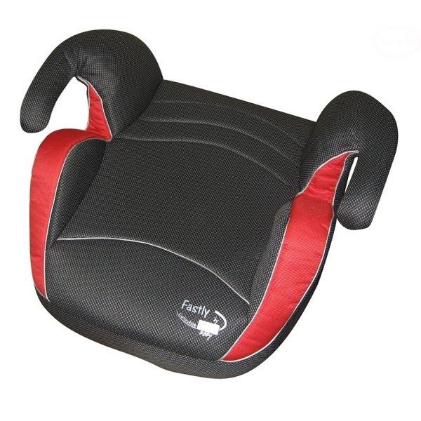Euro Baby Autosedačka - Podsedák 15-36kg - čierna/červená