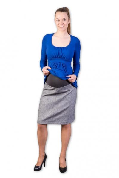 Tehotenská sukňa vlnená Tofa, veľ. XL