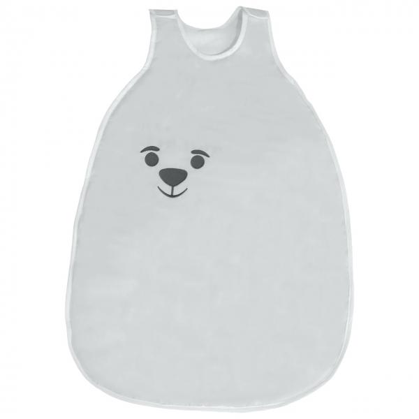Bavlnený spací vak Medvedík - sivý
