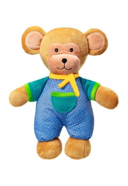 BabyOno Plyšová hračka s hrkálkou, 30cm - Monkey Eric