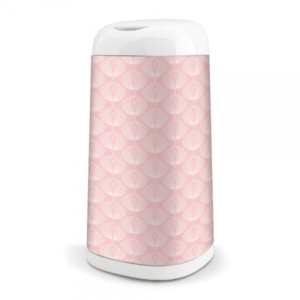 Kôš na použité plienky Dress Up + 1 vložka do koša - ružový