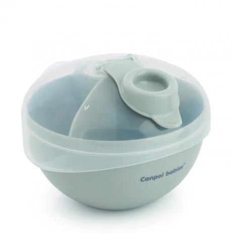 Canpol babies Zásobník na uchovávanie sušeného mlieka - šedý