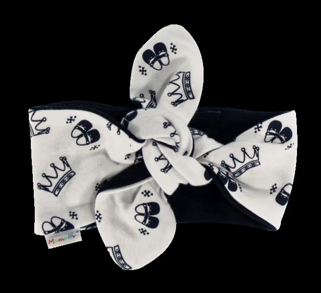 Čelenka Pin-up Princezna, granátové korunky