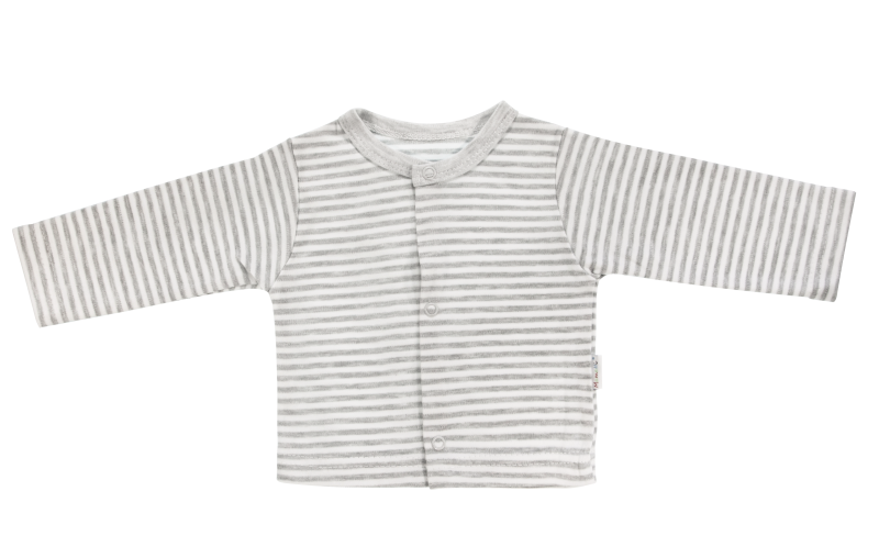 Bavlnená košieľka Gentleman, sivá, veľ. 68