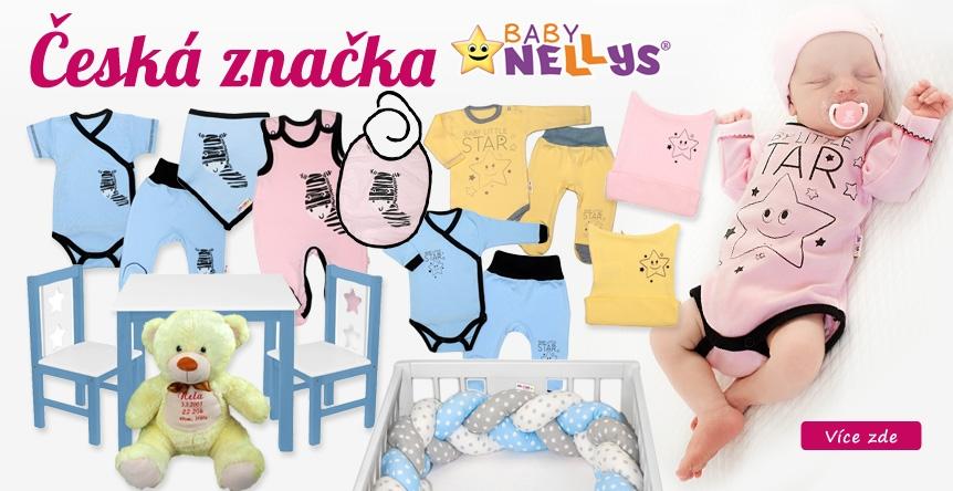 Česká značka Baby NELLYS = záruka spokojnosti