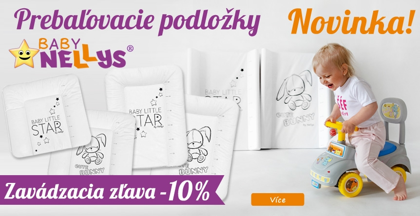Neodolateľné podložky BABY NELLYS - zavádzajúca akcia!