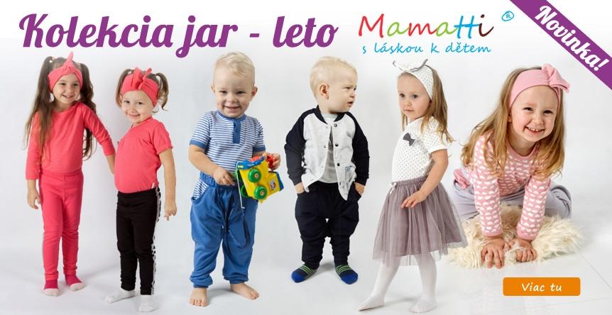 Nová jarná - letná kolekcia 2020 od Mamatti.